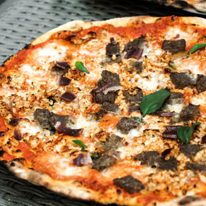 GFC meat lovers pizza